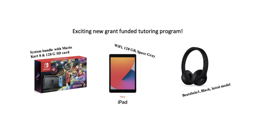 grant tutoring prize images