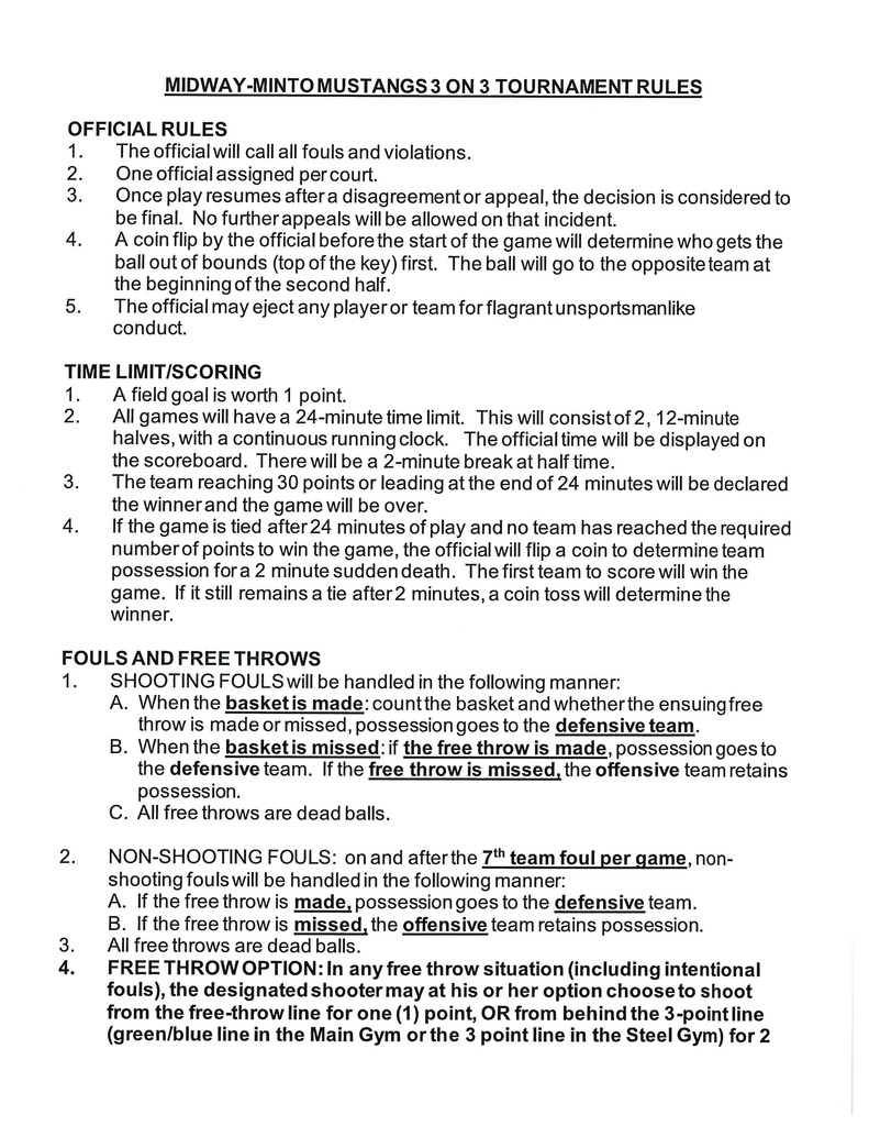 Midway Rules page 1